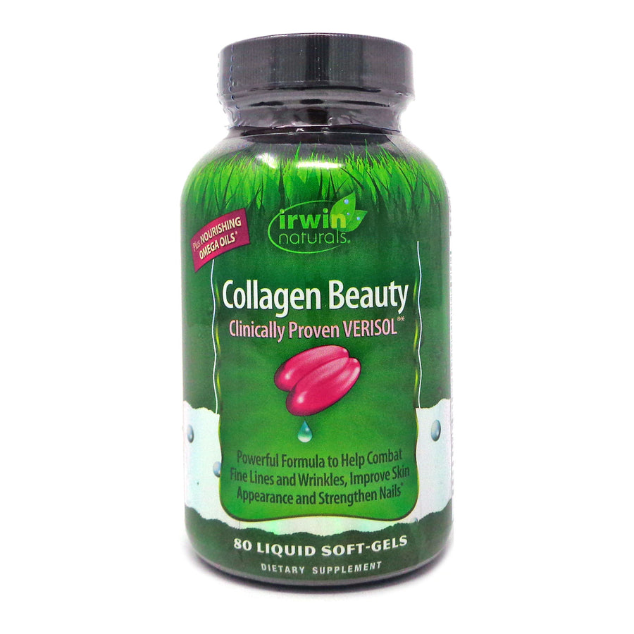 Irwin Naturals Irwin Naturals Collagen Beauty - 80 Capsules
