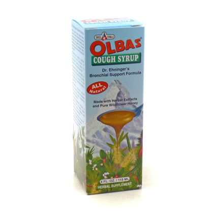 Olbas Cough Syrup All Natural - 4 Ouncesx0Dx0A