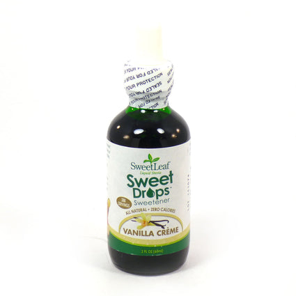 Stevia Clear Liquid Vanilla Creme By Sweetleaf - 2 Ounces