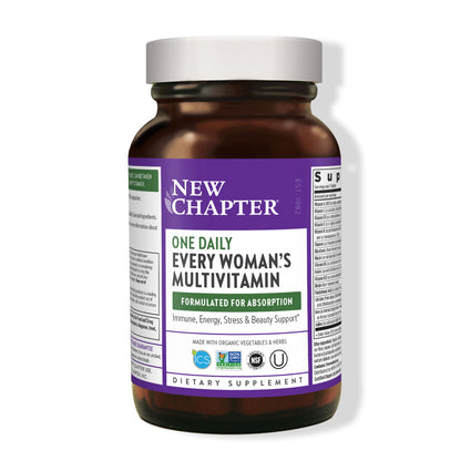Every Woman Whole Food Multi By New Chapter - 48 Tablets