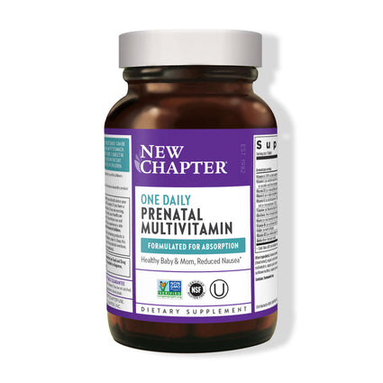 Perfect Prenatal Trimester Multivitamin By New Chapter - 270 Tablets