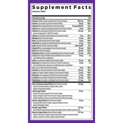 Every Man Whole Food Multi By New Chapter - 48 Tablets