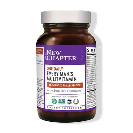Every Mans One Daily Multivitamin  by New Chapter - 96 Tablets