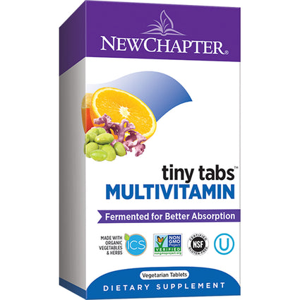 Tiny Tabs Multivitamin By New Chapter - 192 Tablets