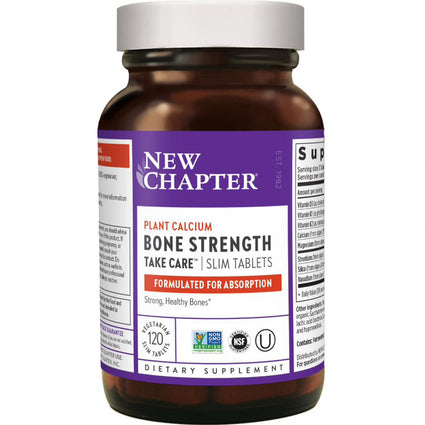 Bone Strength Take Care By New Chapter - 120 Slim Tablets