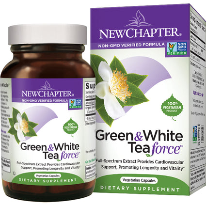 Green & White Tea Force By New Chapter - 60 Capsules