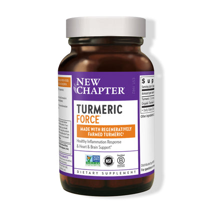 Turmeric Force by New Chapter - 60 Capsules