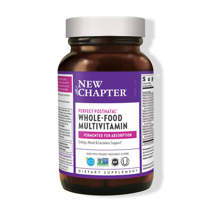 Perfect Postnatal Multivitamin by New Chapter - 96 Tablets