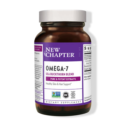 Supercritical Omega-7 by New Chapter - 30 Capsules