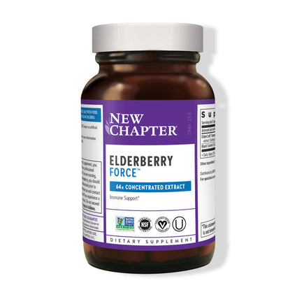 Elderberry Force by New Chapter - 30 Capsules