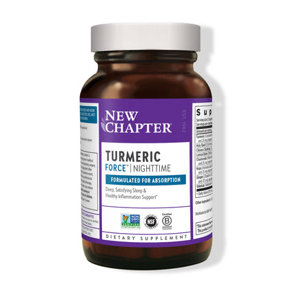 New Chapter Turmeric Force Nighttime  - 60 Capsules