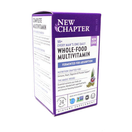 Every Man's 55+ One Daily Mutivitamin By New Chapter - 24 Tablets