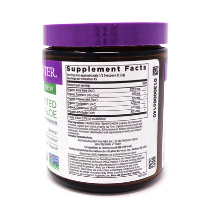 Fermented Aloe Booster Powder By New Chapter - 1.9 Ounces