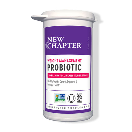 New Chapter Weight Management Probiotic - 30 Capsules