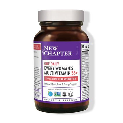 New Chapter Every Womans 55 Plus One Daily - 90 Veg Tablets