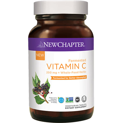 New Chapter Fermented Vitamin C - 30 Tablets