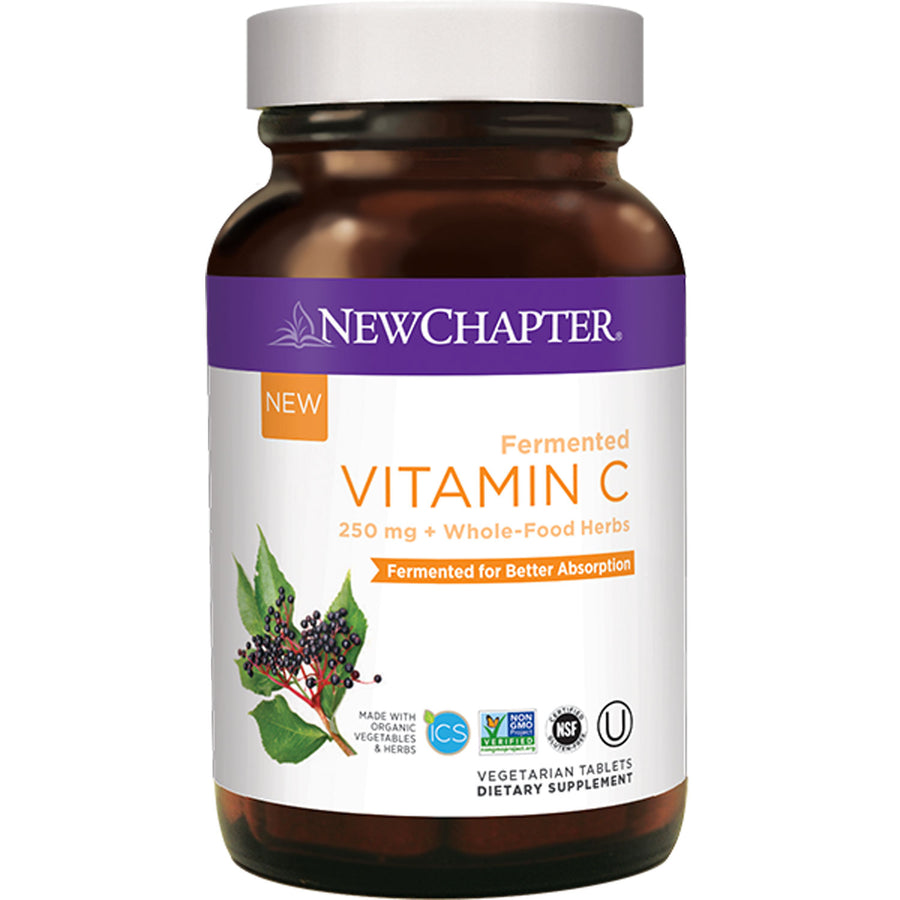 New Chapter Fermented Vitamin C - 60 Tablets