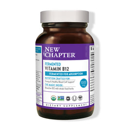 New Chapter Fermented Vitamin B12 60 Vegan Tablets