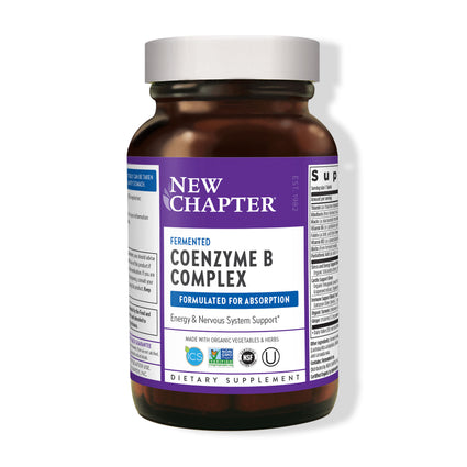 New Chapter Fermented Vitamin B Complex  - 60 Tablets
