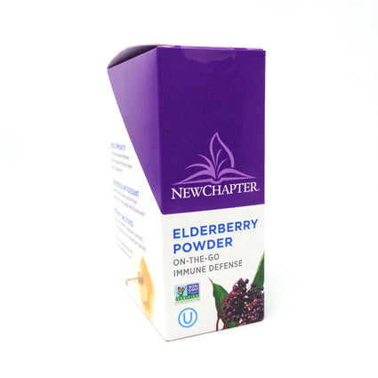 New Chapter Elderberry Powder Sticks Immune Defense - 15 Servings