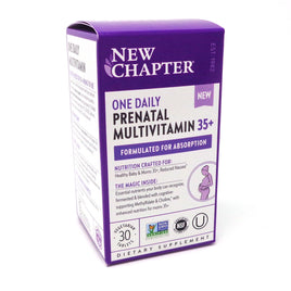 New Chapter One Daily Prenatal Multi 35+ - 30 tablets