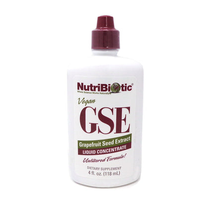 GSE Grapefruit Seed Extract By Nutribiotic - 4 Ounces