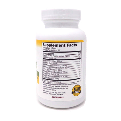 Defense Plus 250 mg by Nutribiotic - 90 Tablets
