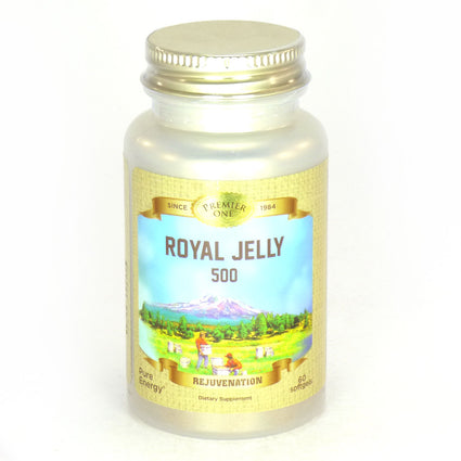 Royal Jelly 500 mg By Premier One - 60 Softgels