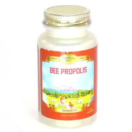 Bee Propolis 650 mg By Premier One - 60  Capsules