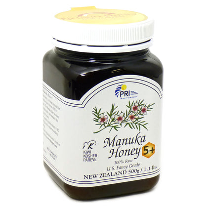 Manuka Honey Bio Active 5+ By Pacific Resource - 1 Pound