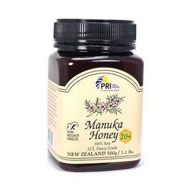 Manuka Honey Bio Active 20+ By Pacific Resources - 1.1 Pounds