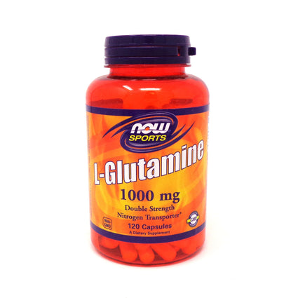 L-Glutamine 1000 mg by Now Foods 120 Capsules