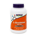 Ornithine 500mg By Now Foods - 120 Capsules