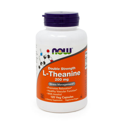 L-Theanine by  Now Foods - 120 Capsules