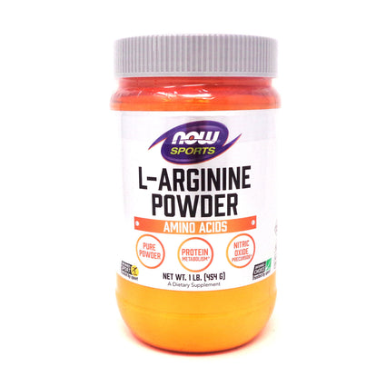 L-Arginine Powder by Now Foods 1 lb.