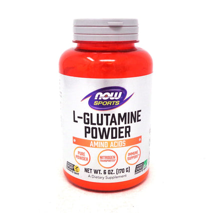L-Glutamine Powder by Now Foods - 6 Ounces