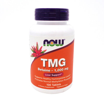 TMG (Trimethylglycine) 1000 mg by Now Foods 100 Tablets