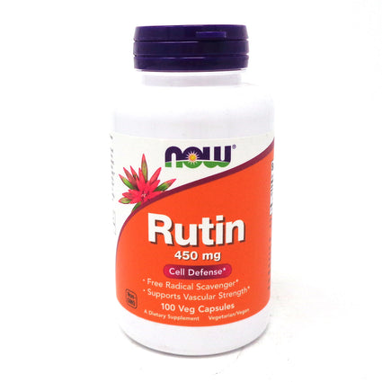 Rutin 450 mg By Now Foods - 100 Vcaps