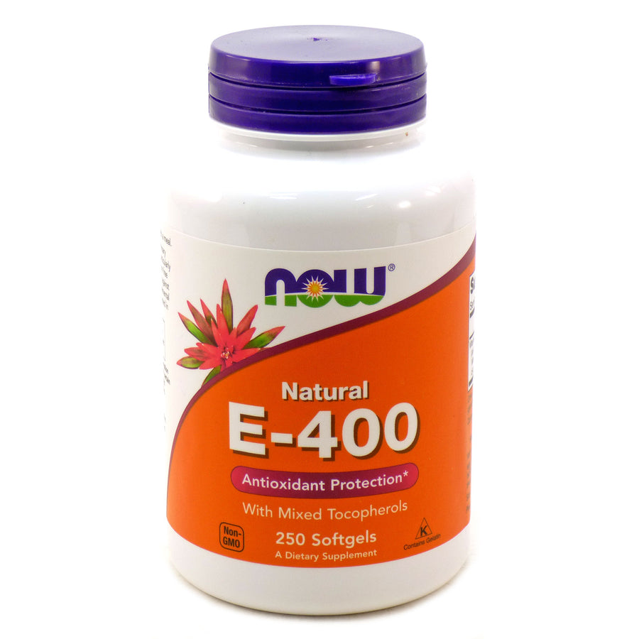 E-400 I.U. - Mixed Tocopherols by Now Foods 250 Softgels
