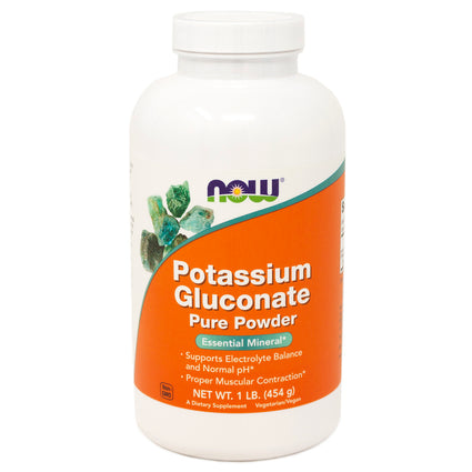 Now Foods Potassium Gluconate Pure Pwd  1 Lb