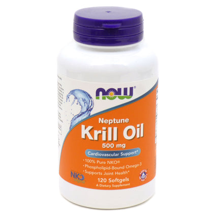 Neptune Krill Oil By Now Foods 500mg - 120 Softgels