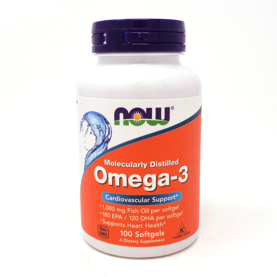 Now Foods Omega-3 - 100 Softgels