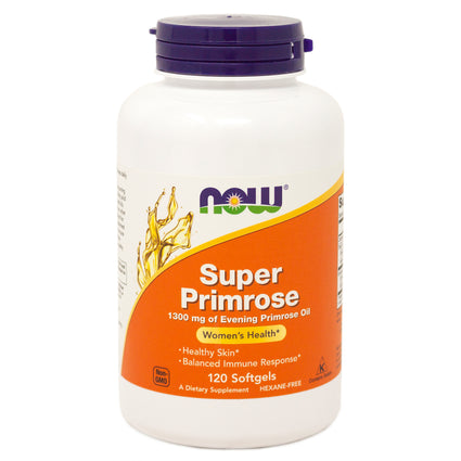 Super Primrose 1300 mg by Now Foods 120 Softgels