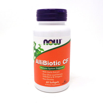 Allibiotic By Now Foods - 60 Softgels