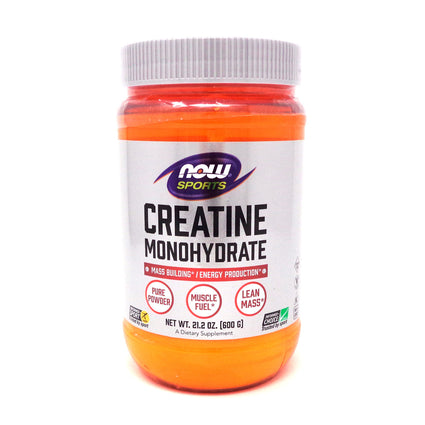 Creatine Powder 21.3 Oz   By Now Foods - 600 Grm
