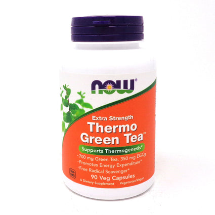 Thermo Green Tea By Now Foods - 90 Veg Capsules