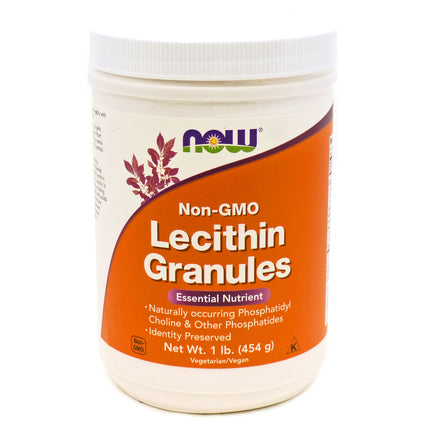 Lecithin Granules By Now Foods - 1 Pound