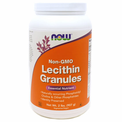 Lecithin Granules Non-GMO By Now Foods - 2 Pounds