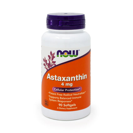 Astaxanthin 4 mg By Now Foods - 90 Softgels