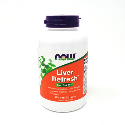 Liver Detoxifier and Regerator By Now Foods - 180 Capsules